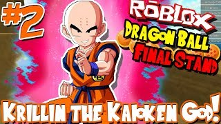 Download KRILLIN THE KAIOKEN GOD!   Roblox: Dragon Ball