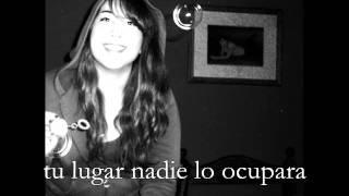 Stay (spanish cover) Miley Cyrus - Lyrics on screen