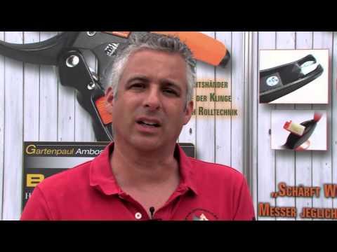 Gartenpaul TV - Gartenpaul Multischärfer / Hartmetallschärfer / Axt- und Messerschärfer