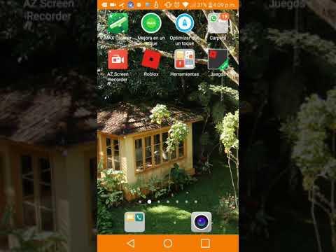 Como funciona la app az screen recorder