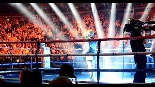 Carl Frampton & Chris Avalos Ring Walks - Belfast 28th Feb 2015