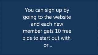 35 Free Bids from Beezid.com