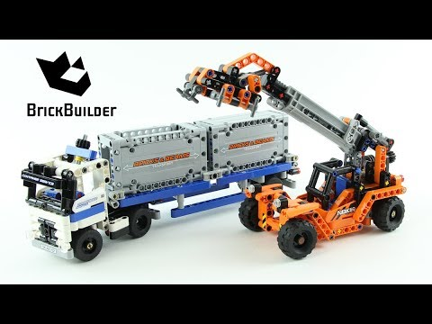 Lego Technic Container Yard 42062 - Lego Speed build