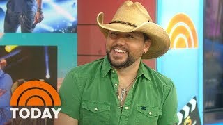 Gambar cover Country Superstar Jason Aldean Reveals His Pre-Show Rituals On TODAY's Take | TODAY