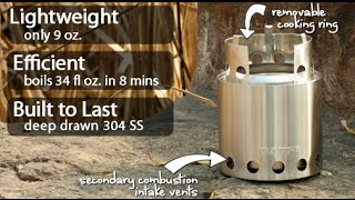 FANTASTIC Bug Out Stove/ Solo Stove | Canadian Prepper