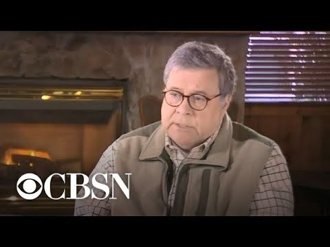 """Barr on Mueller's """"legal analysis,"""" Trump's claim of spying on campaign"""