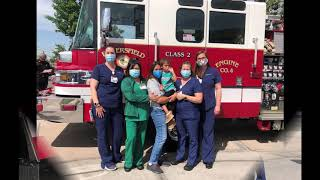 Sweet Send-Off for 3-year-old Discharged from the Grossman Burn Center