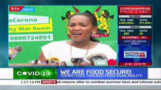 We are food secure: Government says there\'s enough food in the country until June