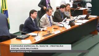 Proteção social dos militares - Discussão e votação do parecer do relator - 15/10/2019 14:00