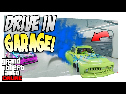 GTA 5 Online: *EASY* How To Drive ANY Vehicle Inside Your Garage!(1.37)
