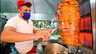 Greek Street Food - GYRO HERO Of ATHENS + CRAZY Seafood Taverna Experience In Greece!!