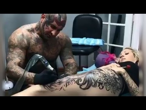 Video Most painful place on your body to get a tattoo (part 1)