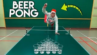 BEER PONG Trick Shots | Jeyx