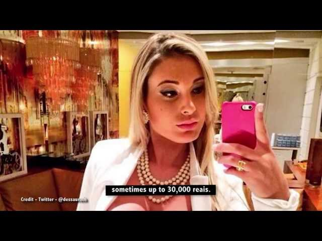 Exclusive interview with ex-call girl to the celebs, Andressa Urach, 28.10.15