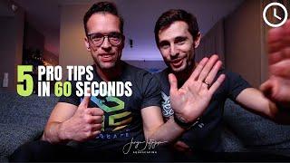 5 protipów w 60 sekund