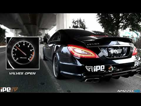 The iPE Exhaust for Mercedes Benz CLS63 AMG
