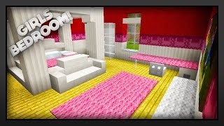 Minecraft - How To Make A Girls Bedroom