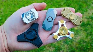 12 СПИННЕРОВ с ALIEXPRESS 2 | Finger Spinner
