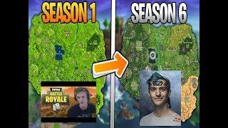Ninja Season 1 VS Season 6