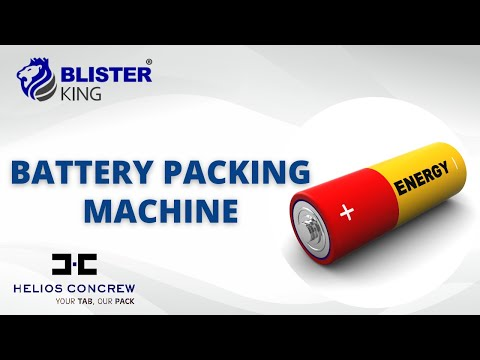Battery Packing Machine