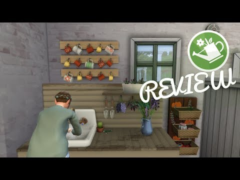 COTTAGE GARDEN FANMADE STUFF PACK 🌿   Sims 4 CC Showcase