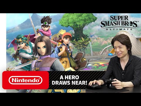Nintendo Direct LIVE: Super Smash Bros Ultimate Hero release