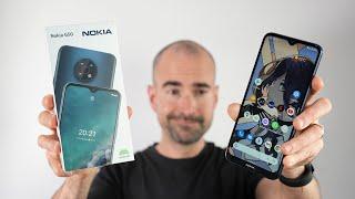 Nokia G50 Unboxing & Full Tour - £199 Budget Behemoth