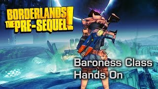 The Baroness Makes it Snow Blood - Borderlands: The Pre-Sequel Lady Hammerlock Pack Hands On