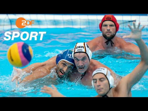 Deutsche Wasserballer ärgern Italien - Wasserball, GER - ITA | Schwimm-WM 2019 - ZDF
