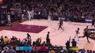 1st Quarter, One Box Video: Cleveland Cavaliers vs. Golden State Warriors