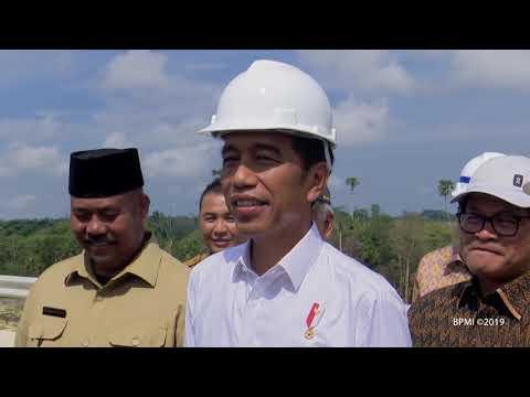 Presiden Jokowi Cek Lokasi Calon Ibu Kota Negara di Provinsi Kalimantan Timur, 7 Mei 2019