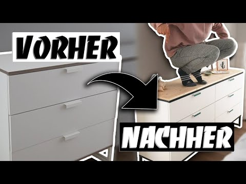 IKEA UPCYCLING - Kommode im Tumblr Look - IKEA HACK selber bauen | EASY ALEX