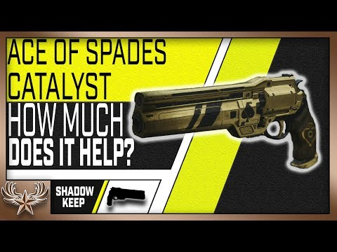 Ace Of Spades Catalyst Review (Destiny 2 ShadowKeep)