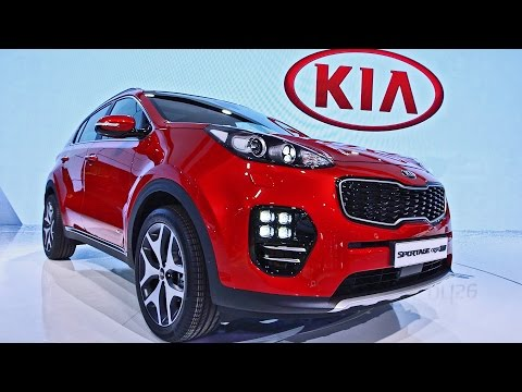 2016 Kia Sportage GT Line - Interior and Exterior Walkaround - IAA 2015