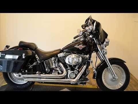2002 Harley-Davidson FLSTF/FLSTFI Fat Boy® in Wauconda, Illinois