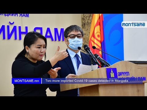 Two more imported Covid-19 cases detected in Mongolia