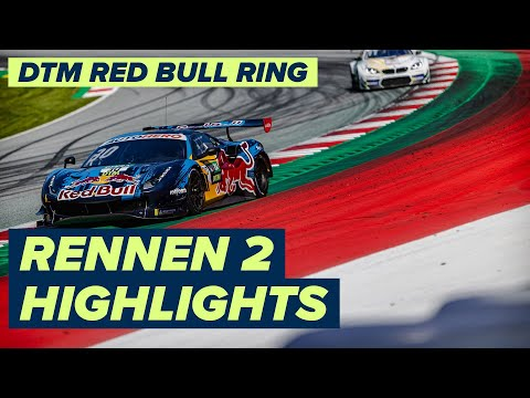 DTM ニュルブルクリンク(ドイツ) RENNEN2のハイライト動画