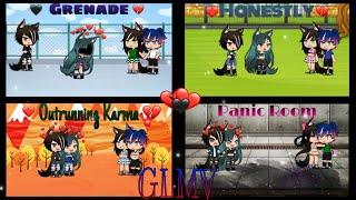 Grenade, Honestly, Outrunning Karma, Panic Room (GLMV)