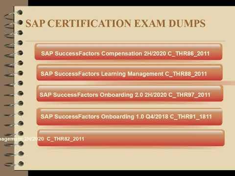 SAP CERTIFICATION EXAM DUMPS WITH PASSING GUARANTEE ...
