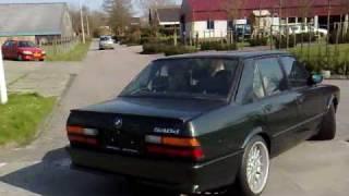 540d E28 V8 Bi-Turbo Diesel 1st Test-runs