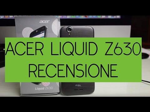 Recensione Acer Liquid Z630