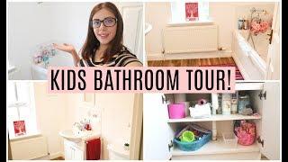 KIDS BATHROOM TOUR & STORAGE! | KERRY CONWAY