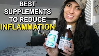 Best Supplements For Reducing Inflammation