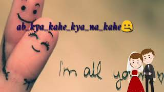Yaara re best romantic status**