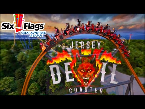 Six Flags Great Adventure Jersey Devil Coaster ANALYSIS!