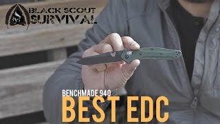 BEST EDC KNIFE??? Benchmade 940 Review