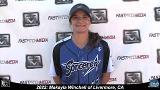 2022 Makayla Winchell - 4.0 GPA - Athletic Slapper, Outfield & Shortstop Softball Skills Video