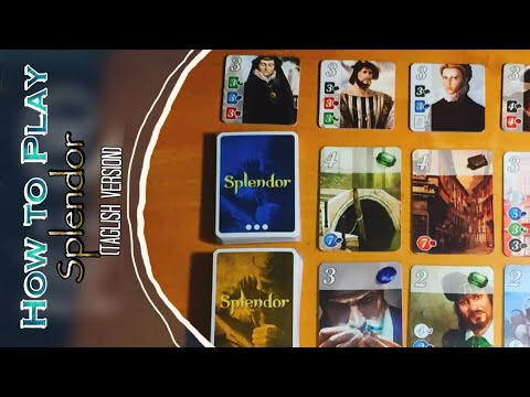 How to Play Splendor (Tagalog Version)
