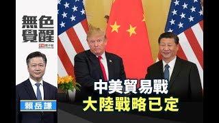 《無色覺醒》 賴岳謙 |中美貿易戰 大陸戰略已定|20190521