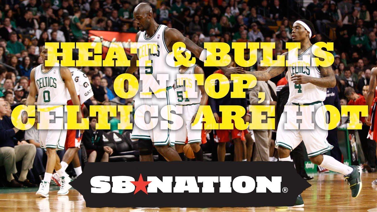 Heat and Bulls on Top, Celtics are Hot thumbnail